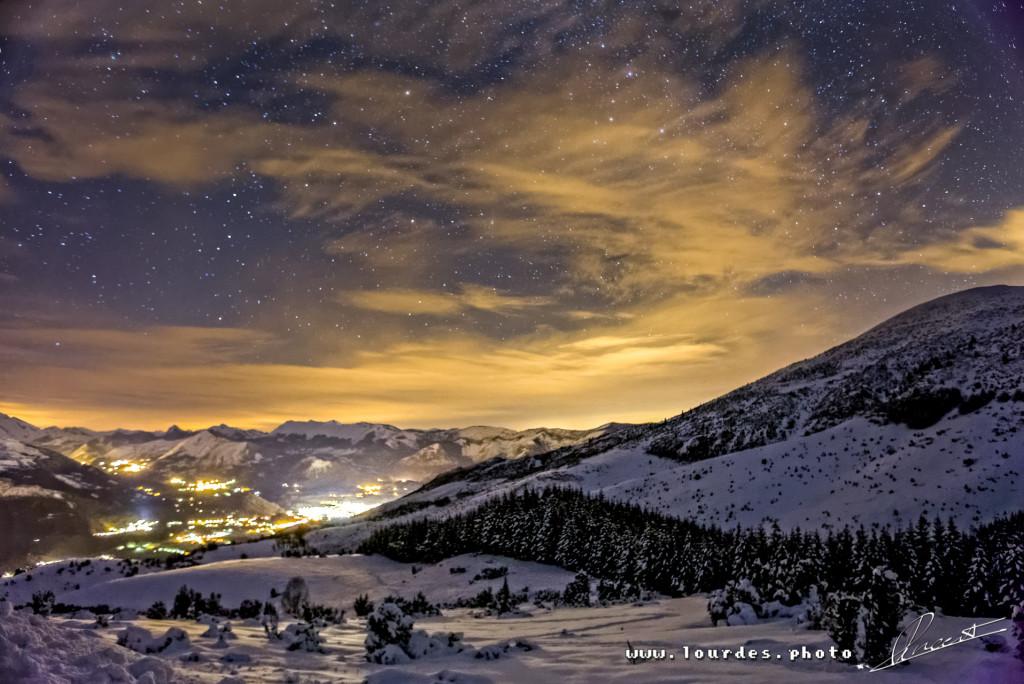 Vue depuis la station de ski du Hautacam